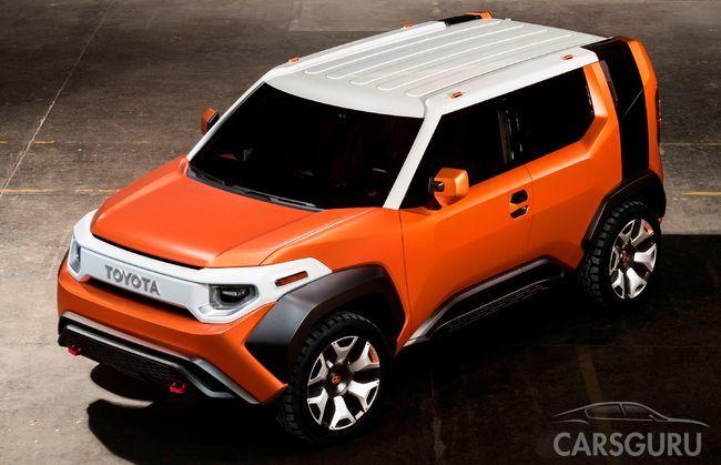 Toyota представляет новый кроссовер