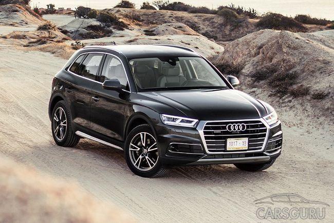 Стала известна стоимость Audi Q5 в России