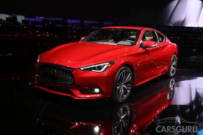 Infiniti Q60 Coupe появится в Китае