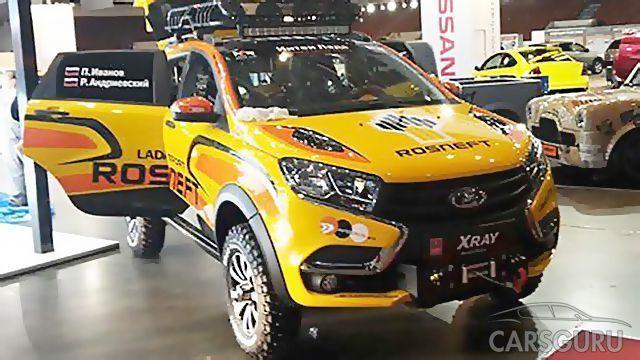 Впервые представлен спортивный внедорожник Lada Xray