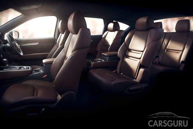 Mazda сообщила некоторые подробности о новом кроссовере Mazda CX8