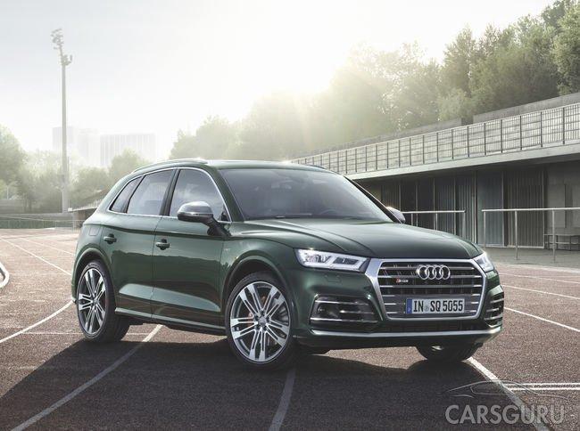 Стала известна стоимость Audi SQ5 в России