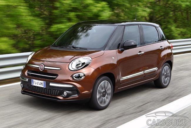 Каким будет Fiat 500L после обновления