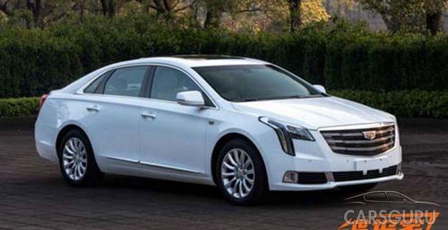 В Сети появились фотографии Cadillac XTS