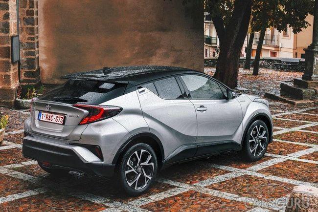 Toyota C-HR был замечен в России