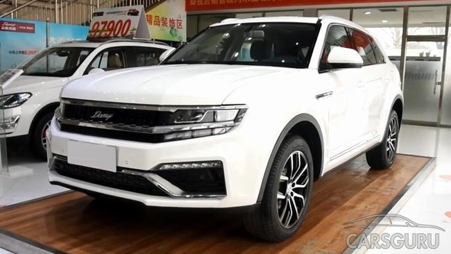 Zotye X7 появился в продаже в Китае