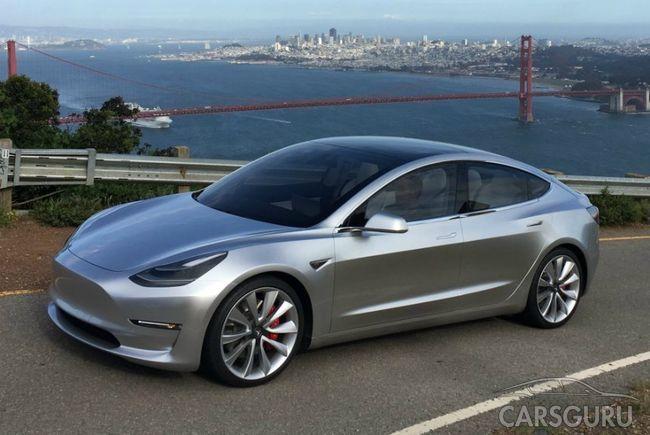 Стали известны подробности о Tesla Model 3