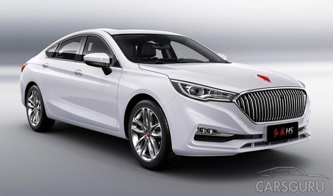 FAW Hongqi H5 появится на китайском рынке в скором времени