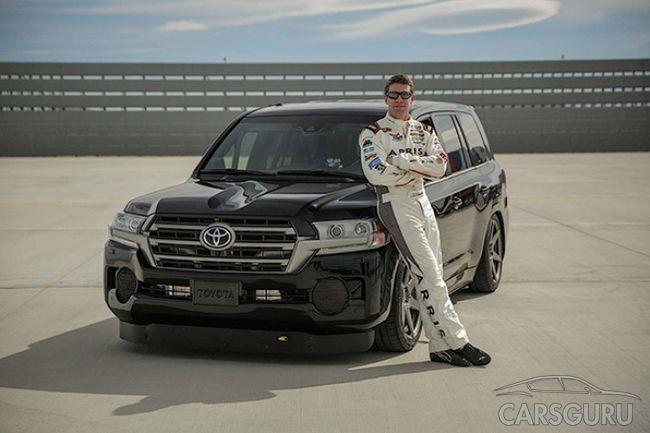 Разгон Toyota Land Cruiser составил 370 км в час