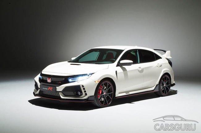 Стала известна стоимость Honda Civic Type R