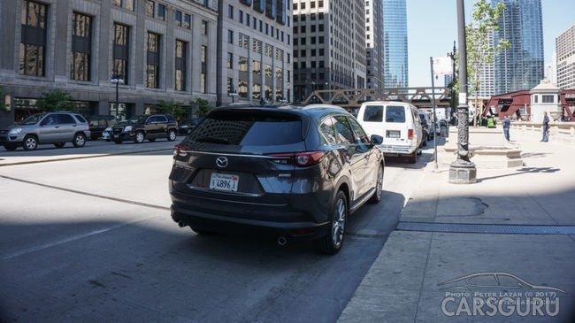 В Сети появились новые фото Mazda CX-8