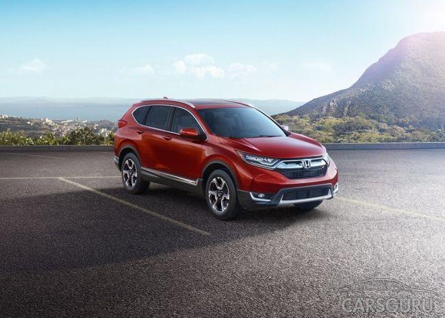 Стала известна стоимость Honda CR-V для России