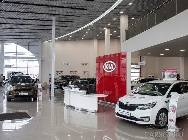 Автомобильные продажи выросли в России почти на 7% в апреле