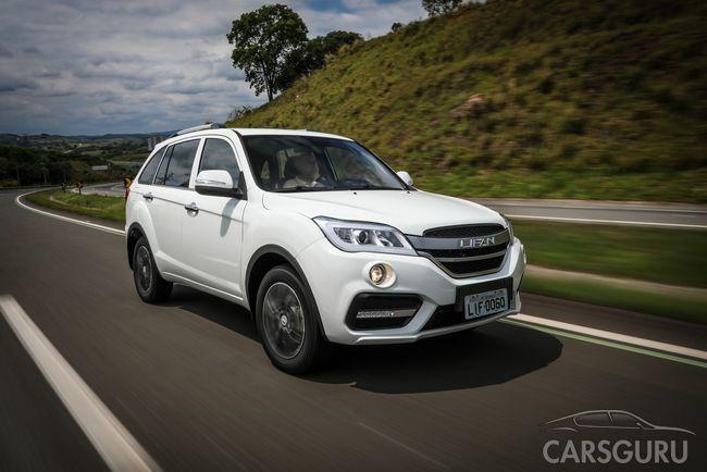 Производитель Lifan представил свои автомобили на российском рынке