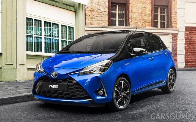 Эксперты дали оценку техническому оснащению Toyota Yaris
