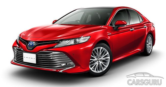 Состоялась презентация Toyota Camry для японского рынка