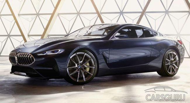 Стало известно, каким будет BMW 8-Series