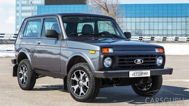 В России стартовали продажи юбилейной Lada 4×4