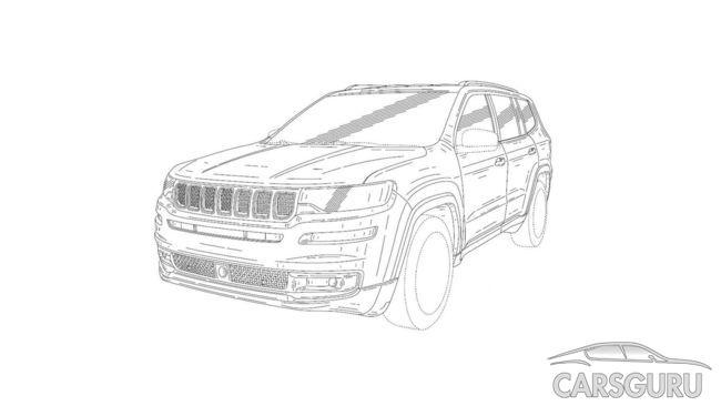 В Сети появились изображения новой модели Jeep