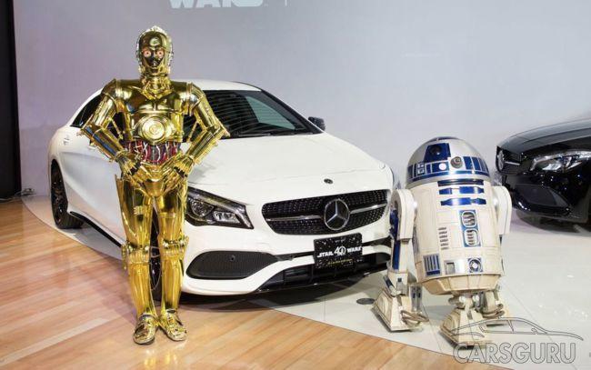 Mercedes-Benz выпустил 120 авто в честь «Звездных войн»