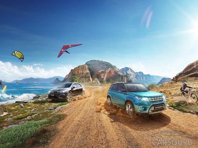 Suzuki Vitara и SX4 2017 можно будет купить по специальному предложению