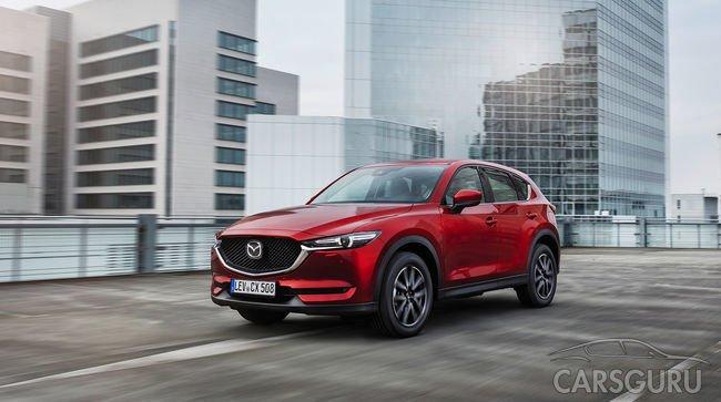 Стала известна стоимость Mazda CX-5