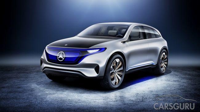 Mercedes-Benz готовит к выпуску свою новую модель EQ