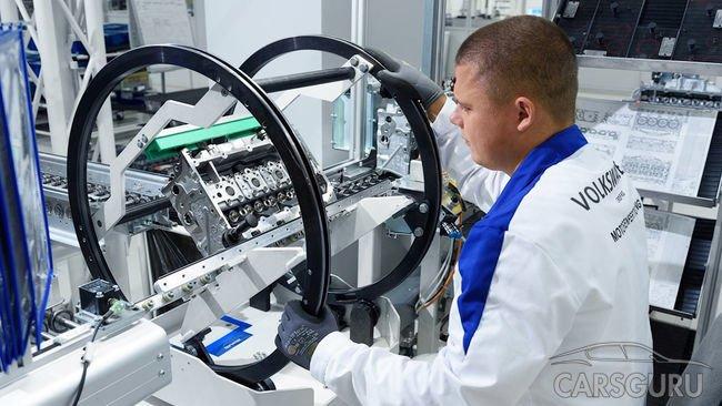 Volkswagen собирается получать моторы из Калуги