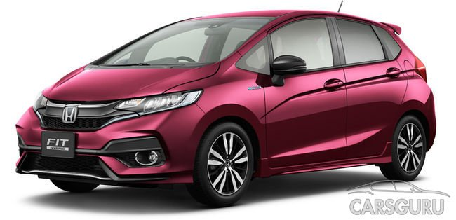 В Сети появились снимки модифицированной Honda Jazz