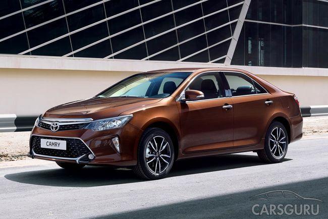 Обновленная Toyota Camry поступила в продажу на российском рынке