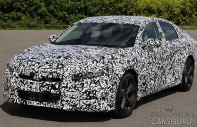 Автопроизводитель Honda рассекретил обновленный Accord