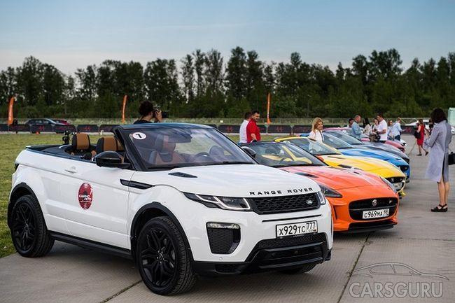 Автопробег «КабриоЛето» для владельцев кабриолетов Jaguar и Land Rover в Санкт-Петербурге