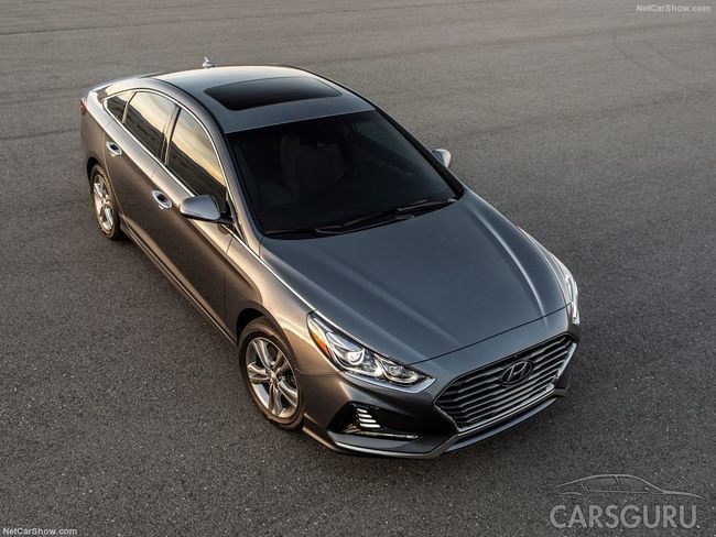 Стала известна стоимость обновленного Hyundai Sonata