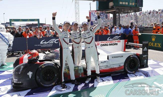 Финал, достойный экранизации: 19 победа Porsche LMP Team в Ле-Мане