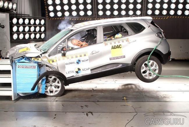 Аналог Renault Kaptur с достоинством проходит краш-тесты. Видео