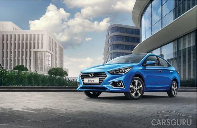 Hyundai Solaris по майским показателям стал бестселлером в Москве
