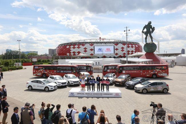 Стало известно, какие автомобили KIA и Hyundai подготовили для Кубка Конфедераций FIFA 2017