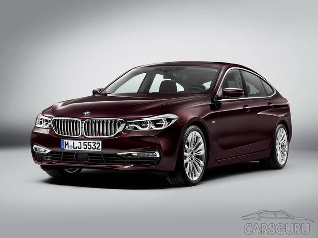 Появились первые фото BMW 6-Series GT