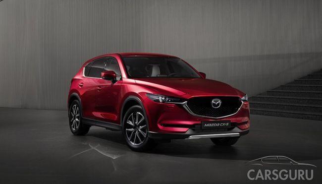 Стала известна стоимость нового поколения Mazda CX-5