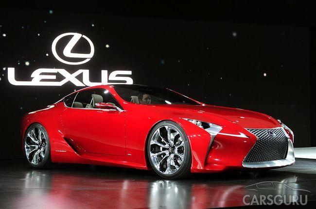 В Москве прошла презентация купе Lexus LC 500