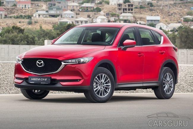 Стала известна стоимость кроссовера Mazda CX-5 для России