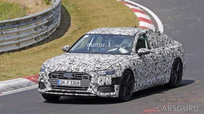 Audi выводит на тесты «заряженную» версию Audi S6