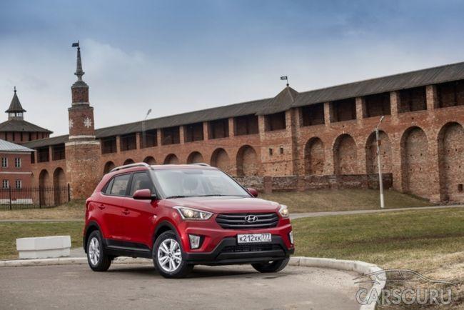 Hyundai Creta обзавелся новыми опциями