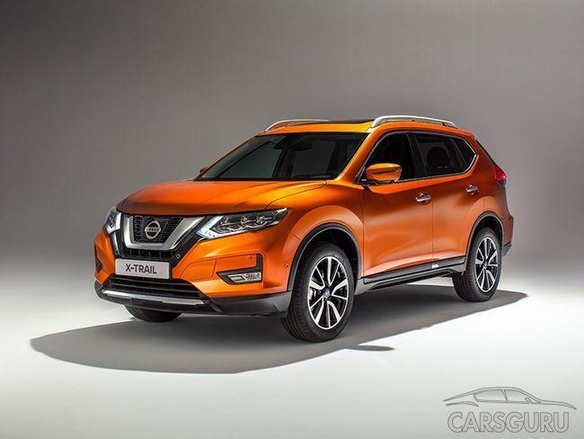Nissan продемонстрировал обновленный кроссовер X-Trail