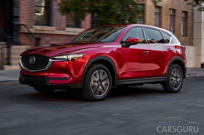 Mazda CX-5 появится в салонах в июле