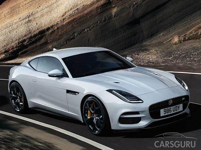 В продаже появилась самая доступная версия Jaguar F-Type