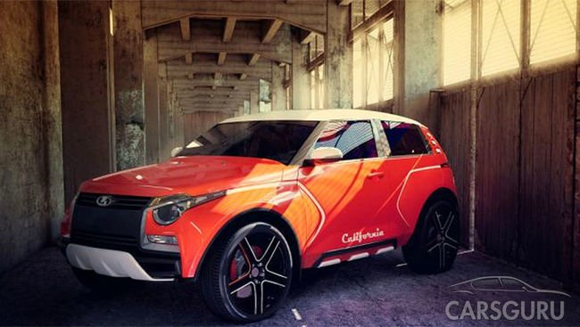 В Екатеринбурге представлен проект Lada California