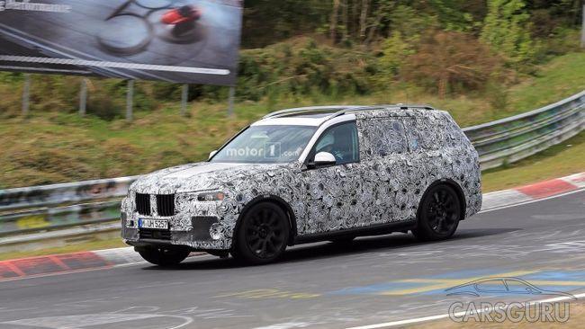 Концепт BMW X7 будет представлен в Германии