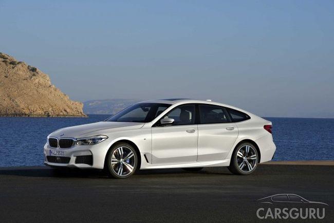 BMW представила новое поколение лифтбеков шестой серии