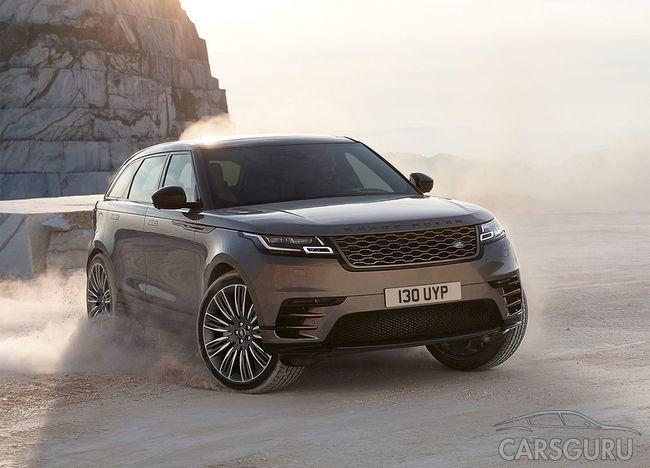 Range Rover Velar получит более мощный двигатель
